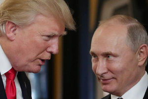 В Кремле допускают, что Трамп и Путин встретятся трижды до конца года