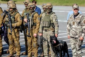 Спецназ полиции КОРД пополнился новыми бойцами (видео)