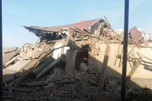 На Закарпатье мощный взрыв разрушил жилой дом