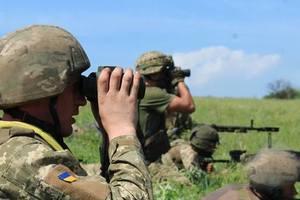 Боевики на Донбассе за день ранили пять украинских военных и жестоко поплатились