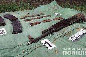 В Донецкой области разоблачили боевика и тайник с оружием