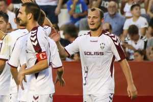Роман Зозуля забил первый мяч в сезоне