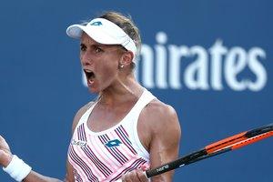 Леся Цуренко впервые в карьере вышла в четвертьфинал US Open