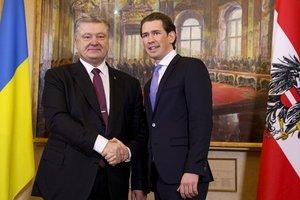 После танцев Путина и Кнайсль Украине нужна была встреча Порошенко и Курца