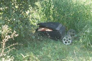 Под Киевом нашли чемодан на колесах с расчлененным телом
