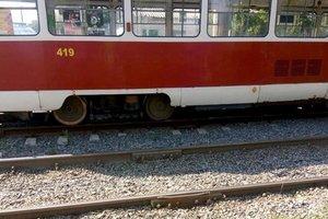 В Одессе трамвай насмерть сбил женщину