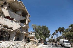 Россия снова бомбит повстанцев в Сирии