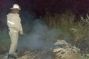 Под Киевом массово горят пустыри и кучи мусора