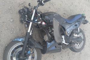 В Запорожской области фура сбила мотоцикл: три человека оказались в больнице