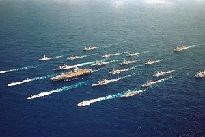 """Флотилия США """"окружила"""" Сирию для возможного ракетного удара по Асаду - СМИ"""