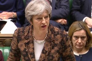 Великобритания будет добиваться новых санкций ЕС против России - Мэй