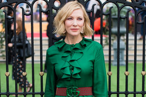 В роскошном изумрудном платье от Gucci: Кейт Бланшетт пришла на премьеру фильма