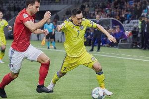 Сборная Грузии выиграла первый в истории матч Лиги наций