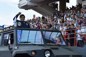 Диего Марадона стал главным тренером мексиканского клуба