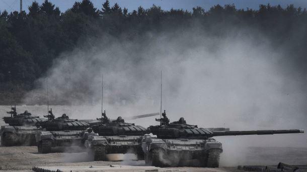 Беспилотник ОБСЕ зафиксировал колонну грузовиков вблизи границы сРоссией
