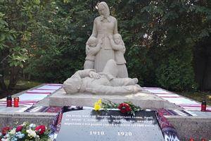 В Чехии открыли памятник воинам Украинской Народной Республики