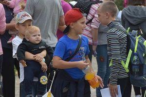 Из районов Херсонской области рядом с Армянском начали вывозить детей