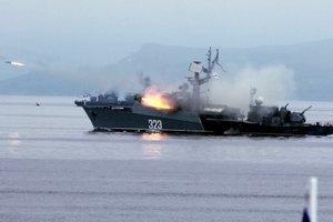 Россия на виду у НАТО провела боевые стрельбы в Средиземном море