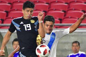 Сын Диего Симеоне забил гол в дебютном матче за сборную Аргентины