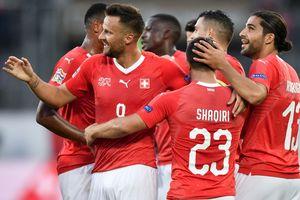 Исландия пропустила шесть мячей от Швейцарии в Лиге Наций