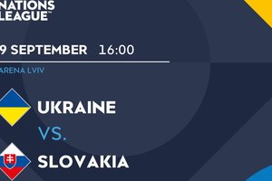Онлайн матча Украина - Словакия в Лиге Наций
