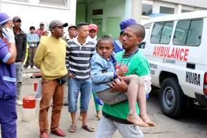 Трагедия на матче Мадагаскар - Сенегал: есть погибший и много пострадавших
