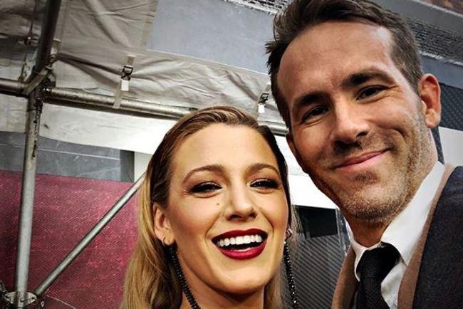 Блейк Лавли и Райан Рейнольдс. Фото: instagram.com/blakelively/