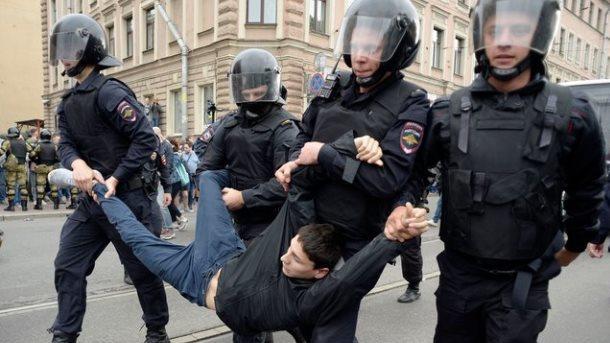ЕСосудил русские власти заразгон протестных акций 9сентября