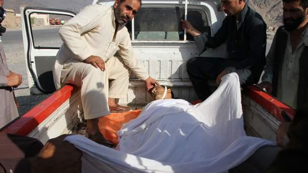 ВАфганистане вовремя акции протеста произошёл взрыв