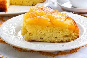 А-ля тарт Татен: перевернутая творожная запеканка с карамелизированными яблоками
