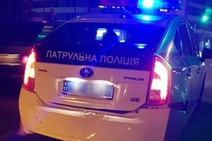 В Ивано-Франковске легковушка врезалась в автомобиль патрульных: есть пострадавшие