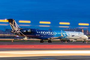 Эстонская авиакомпания приостановила полеты из Киева в Таллин