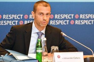 Президент УЕФА против проведения финала Лиги чемпионов в США