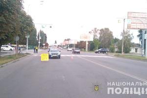 В Днепропетровской области автомобиль сбил женщину и ребенка на пешеходном переходе