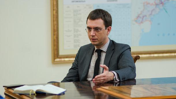 """Владимир Омелян. Фото: А. Лесык / """"Сегодня"""""""