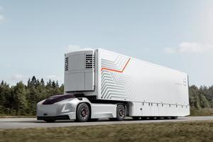 Volvo представила электрический тягач будущего