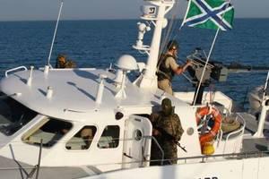 Российский катер устроил провокацию в Азовском море: появилось видео и фото