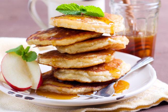 яблочные оладьи рецепт с фото на кефире