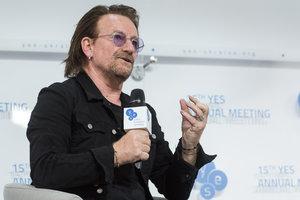 Спецгость YES: лидер U2 Боно впервые приехал в Украину