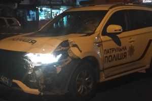 В Черновцах авто патрульной полиции насмерть сбило пешехода