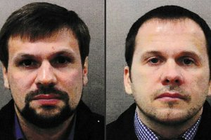 Отель, наркотики и проститутка: СМИ рассказали, как провели ночь Петров и Боширов накануне покушения на Скрипалей