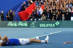 Франция пробилась в финал Кубка Дэвиса