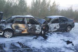 Жуткое ДТП в России: пять человек сгорели заживо, фото