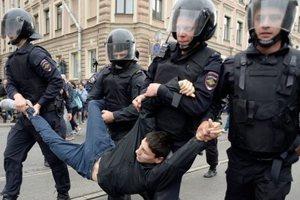 В Москве задержали десять участников бессрочной акции против пенсионной реформы