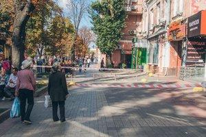 У Києві на Хрещатику обвалився балкон історичної будівлі