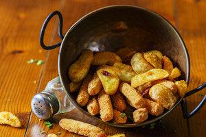 Рецепт дня: запеченные картофельные дольки с паприкой