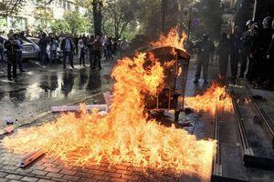 Полиция завела дело из-за столкновений под зданием ГПУ