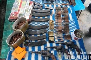 В Одесской области обнаружили солидный арсенал оружия