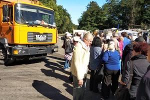 Киеву грозит мусорный коллапс: полигон под городом блокируют неизвестные