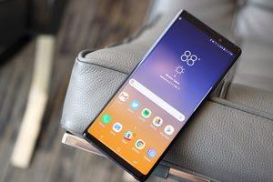 Samsung Galaxy Note 9 едва не сжег владельца